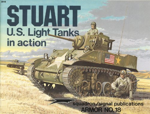 M3 Stuart Light Tanks in action -: Steven J. Zaloga
