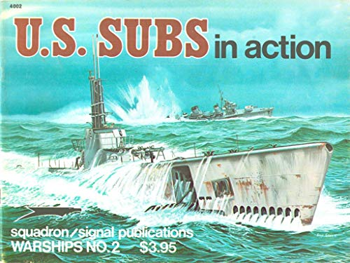 9780897470858: United States Subs in Action (Warships in action)