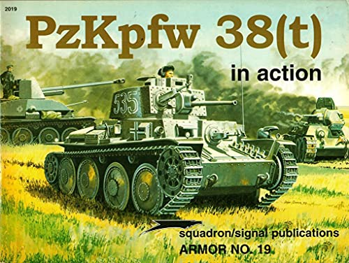 9780897470896: PzKpfw 38(t) in Action - Armor No. 19