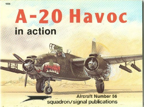 A-20 Havoc in Action - Aircraft No. 56
