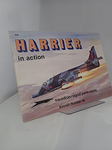 Harrier in Action - Aircraft No. 58