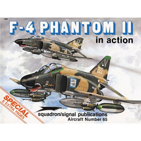 F-4 Phantom II In Action (Squadron In: Davis, Larry