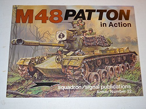 9780897471657: M-48 Patton Tank in Action (Armour in Action)