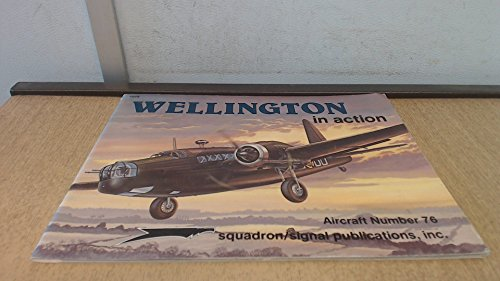 9780897471831: Wellington in Action (Aircraft in Action)