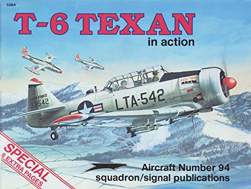 T-6 Texan in action - Aircraft No.: Larry Davis; Perry