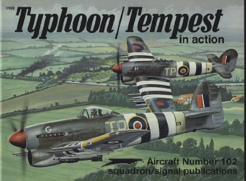 9780897472326: Typhoon/Tempest in action - Aircraft No. 102
