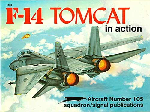 9780897472470: F-14 Tomcat in Action - Aircraft No. 105