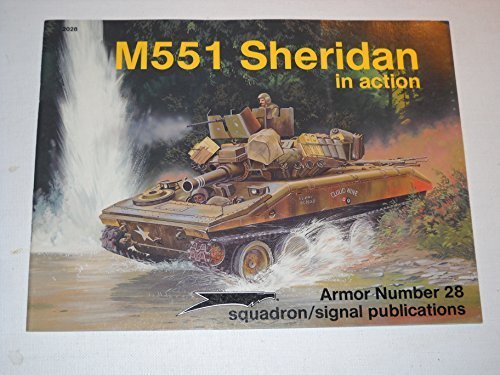 9780897472531: M551 Sheridan in Action - Armor No. 28