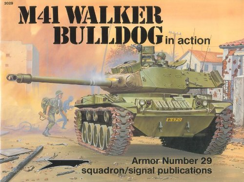 M41 Walker Bulldog in Action - Armor: Jim Mesko; Illustrator-Perry