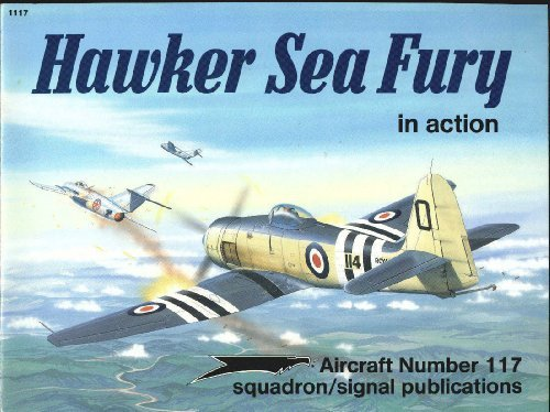 9780897472678: Hawker Sea Fury in Action - Aircraft No. 117