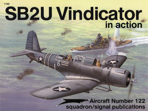 SB2U Vindicator in Action, Aircraft Number 122