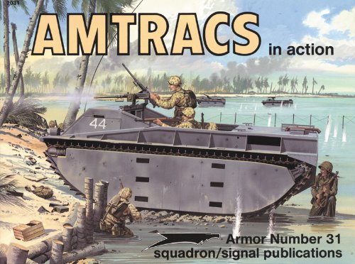 9780897472982: Amtracs (Armour in Action)