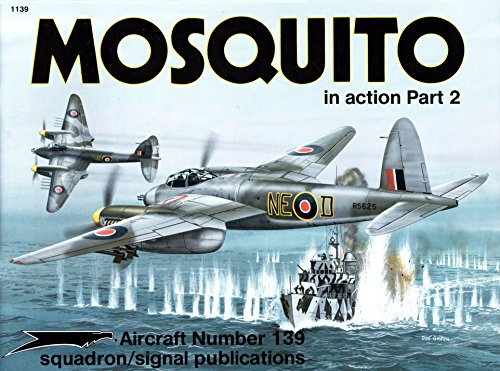 9780897473033: Mosquito in Action, Part 2 - Aircraft No. 139