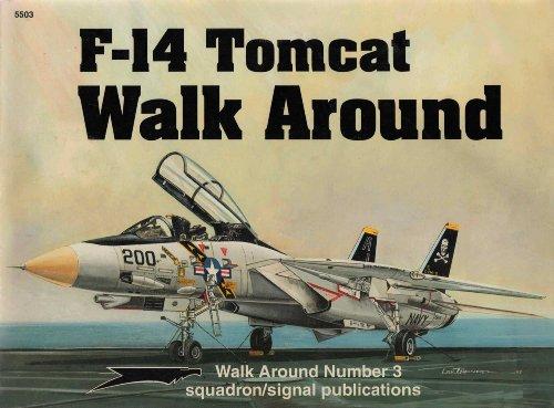 9780897473378: F-14 Tomcat Walk Around (Walk Around No. 3)