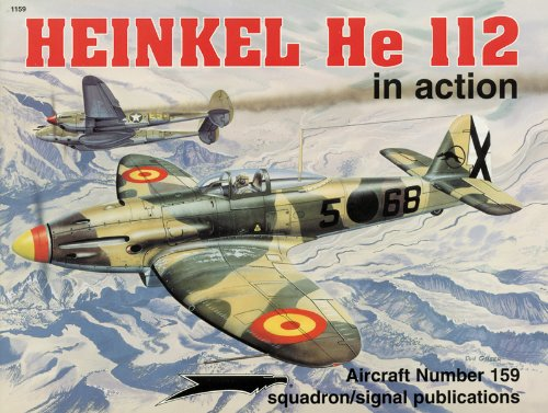 9780897473521: Heinkel HE 112 in Action (Aircraft in Action)