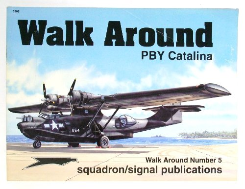 Walk around. PBY Catalina. Color by Don Greer. Illustrated by Joe Sewell. Walk Around Number 5.