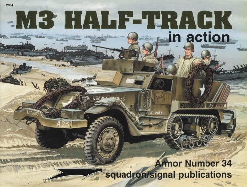 9780897473637: M3 Half-Tracks in Action (Armour in Action S.)