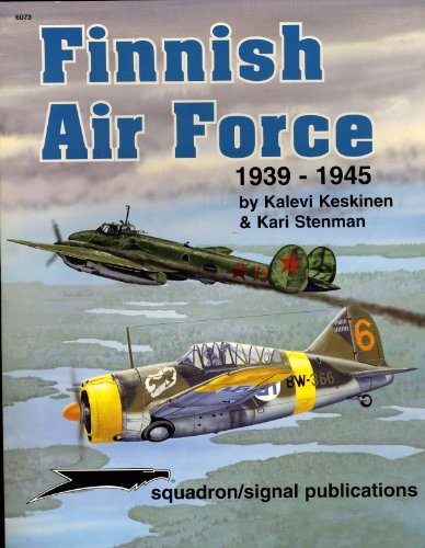 FINNISH AIR FORCE 1939-1945: KALEVI KESKINEN AND