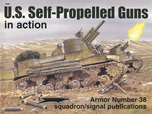 9780897474030: US Self-Propelled Guns in action - Armor No. 38