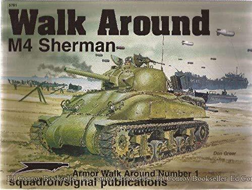 9780897474108: M4 Sherman - Armor Walk Around No. 1