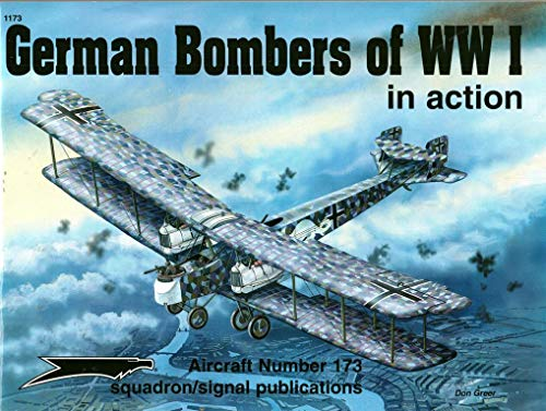 9780897474160: German Bombers of WWI in action - Aircraft No. 173
