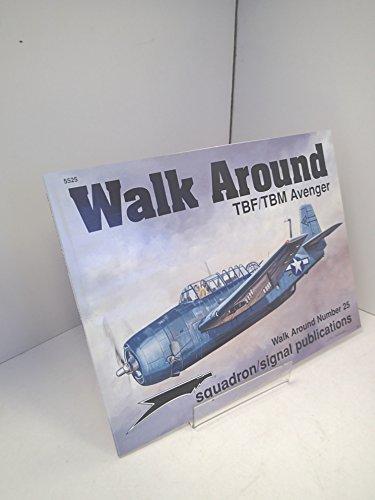 9780897474245: TBF/TBM Avenger - Walk Around No. 25