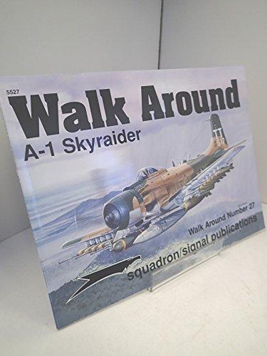9780897474290: A-1 Skyraider - Walk Around No. 27