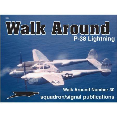 9780897474535: Lockheed P-38 Lightning - Walk Around No. 30