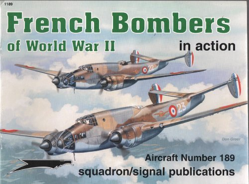 9780897474580: French Bombers of World War II in action - Aircraft No. 189