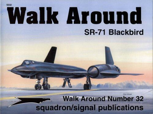 9780897474634: SR-71 Blackbird (Walk Around No. 32)