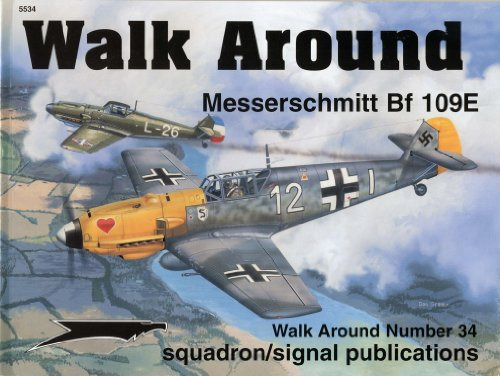 9780897474740: Messerschmitt Bf 109E - Walk Around No. 34