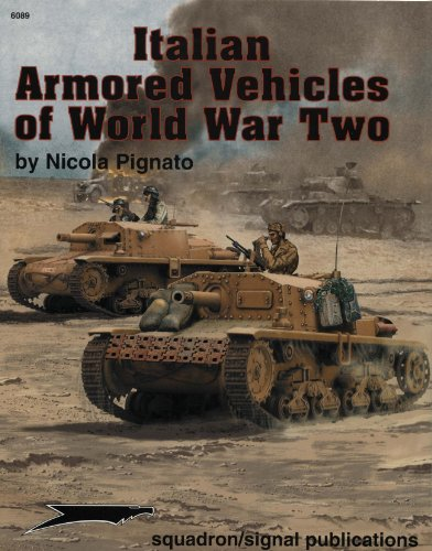9780897474757: Italian Armored Vehicles of WWII - Armor Specials series (6089)