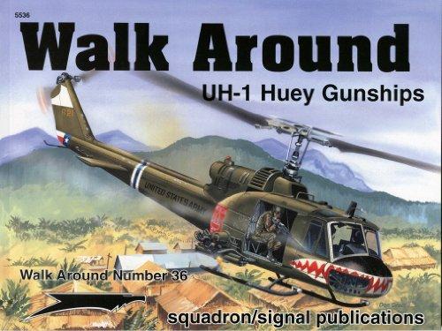 UH-1 HUEY GUNSHIPS - WALK AROUND NO. 36: Wayne Mutza