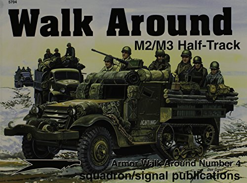 9780897474801: M2/M3 Half-Track - Armor Walk Around No. 4