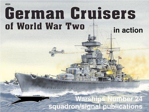 9780897474856: German Cruisers of World War II in action - Warships No. 24
