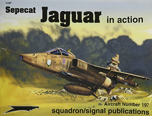 Sepecat Jaguar in Action - Aircraft No. 197
