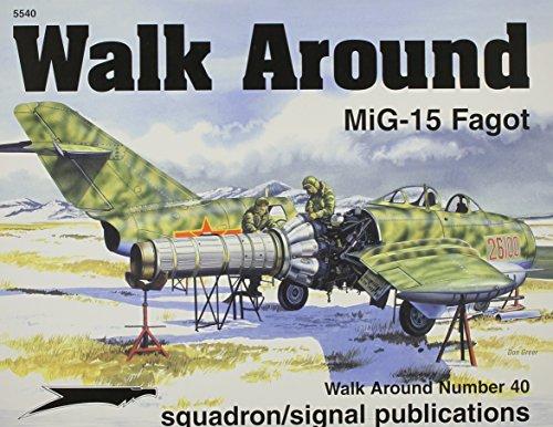 9780897474955: MiG-15 - Walk Around No. 40