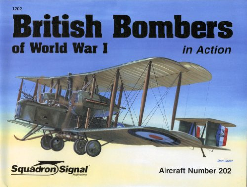 9780897475051: British Bombers of World War I in Action - Aircraft No. 202