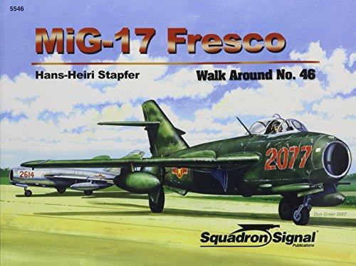 9780897475129: MiG-17 Fresco - Walk Around No. 46