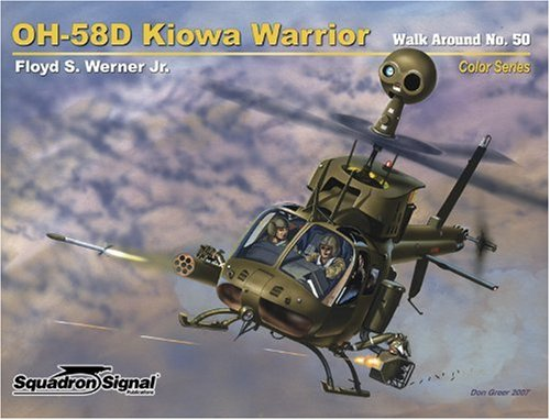 9780897475488: OH-58D Kiowa Warrior - Walk Around Color Series No. 50
