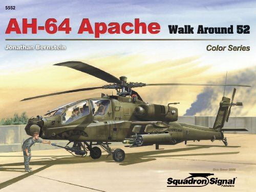 9780897475532: AH-64 Apache - Color Walk Around No. 52
