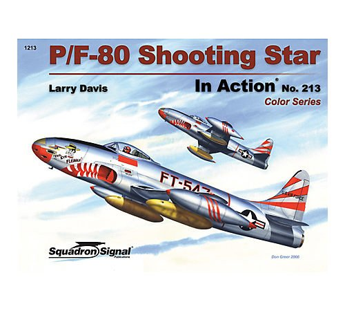 P/F-80 Shooting Star in Action - Color Series Aircraft No. 213: Larry Davis