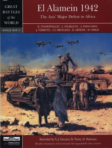 9780897475631: El Alamein 1942: The Axis Major Defeat in Africa - Great Battles of the World series (7003)