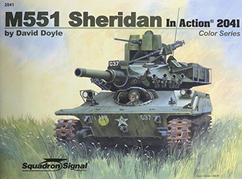 9780897475822: M551 Sheridan in Action - Armor Color Series No. 41