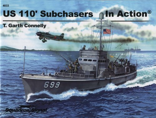 9780897475877: US 110' Subchasers In Action - Warships No. 33