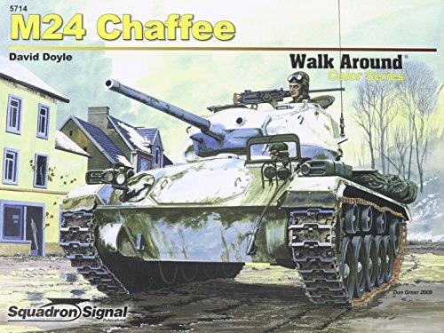 9780897475921: M24 Chaffee - Armor Walk Around Color Series No. 14