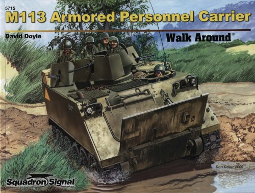 9780897475952: M113 Armored Personnel Carrier - Walk Around Color Series No. 15