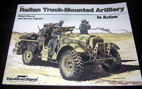 9780897476010: Italian Truck-Mounted Artillery In Action