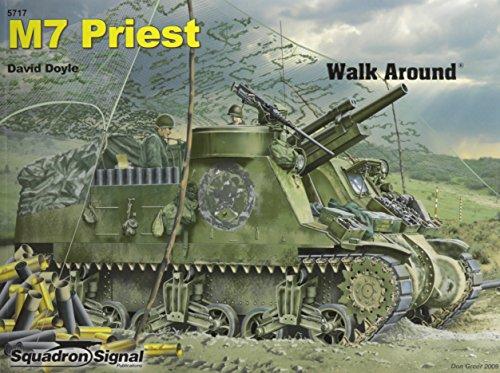 9780897476034: M7 Priest - Armor Walk Around No. 17
