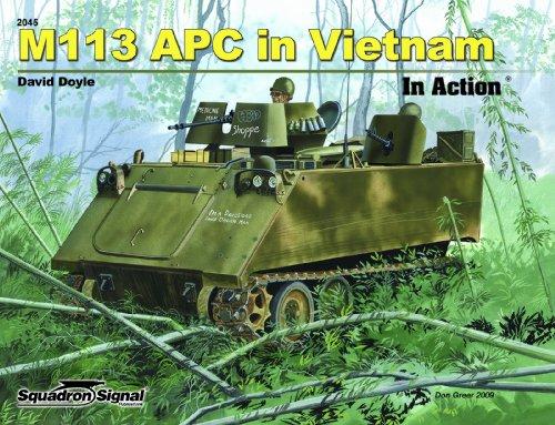 M113 APC in Vietnam in Action -